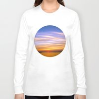 georgia Long Sleeve T-shirts featuring Georgia Sunset by Amy Rowland