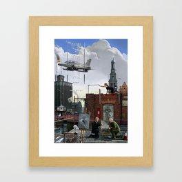 Bankside Hull Framed Art Print