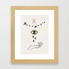Moonchild Magic Framed Art Print