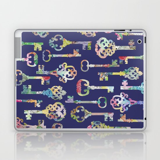 Rainbow Keys Laptop & iPad Skin