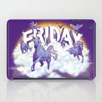friday iPad Cases featuring Friday! by littleclyde