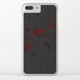 Questionable Paint Choice Clear iPhone Case