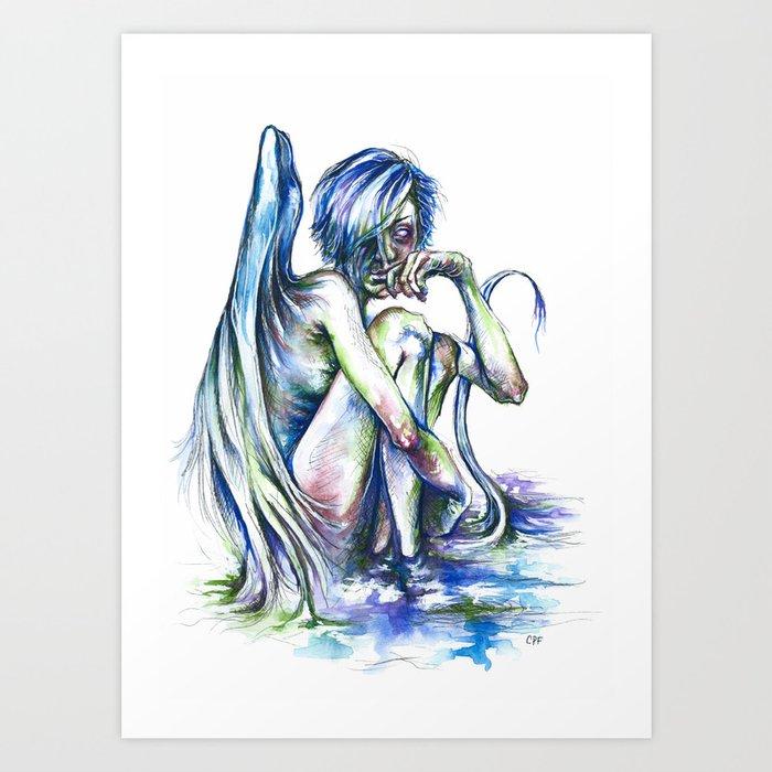 Creature of the Swamp Art Print
