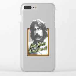 One 'stache to rule them all Clear iPhone Case