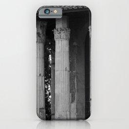 Temple of Vesta Rome Italy iPhone Case