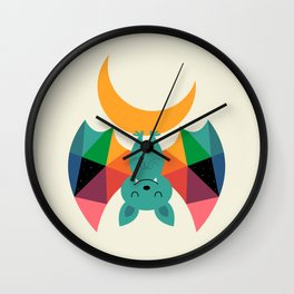 Moon Child Wall Clock