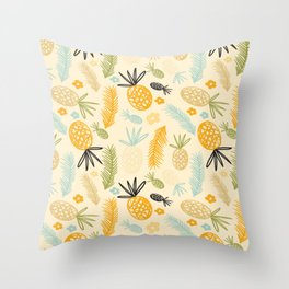 Pineeeeeee Throw Pillow