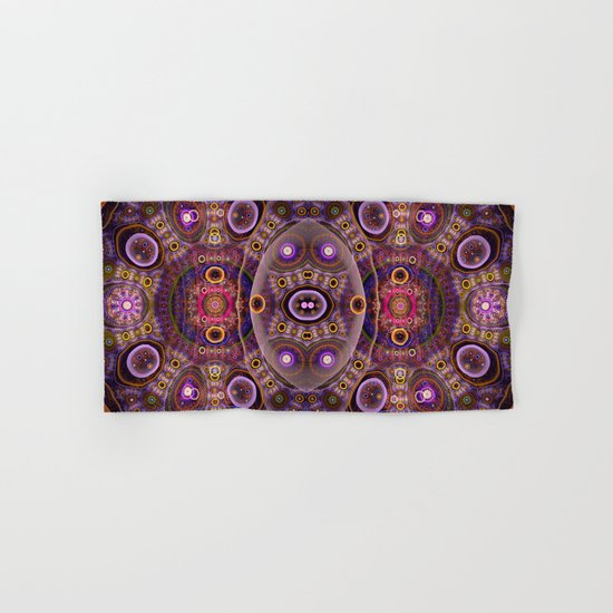 Groovy tribal colourful patterns Hand & Bath Towel