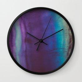 Bohemian Blue Earth Wall Clock
