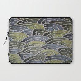 Waves - Pattern Design - Wild Veda Laptop Sleeve