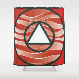 Eye of Uranus Shower Curtain