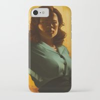 agent carter iPhone & iPod Cases featuring Agent Carter by Celina Hulshof