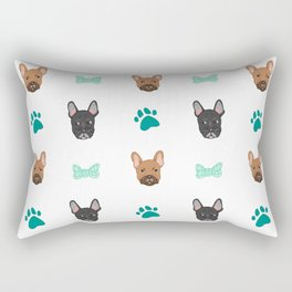 French Bulldogs Rectangular Pillow