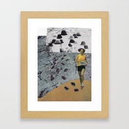 Particle Framed Art Print