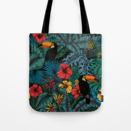 Toucan garden Tote Bag