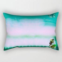 Hula Girl Rectangular Pillow