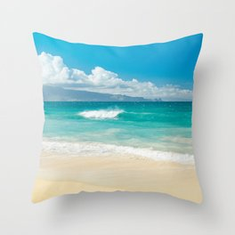 Hawaii Beach Treasures Throw Pillow