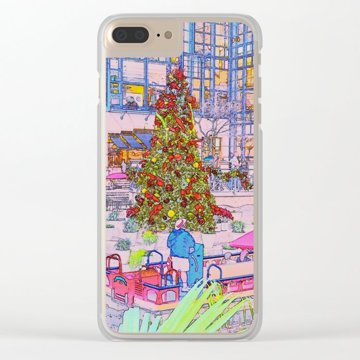 O Christmas Tree! Clear iPhone Case