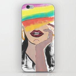Colorful Woman iPhone Skin