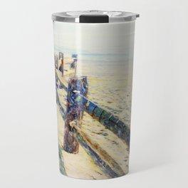 Island Beach, New Day 2 Travel Mug