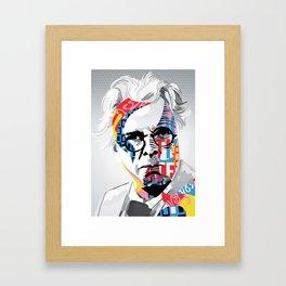 W.B. Yeats Framed Art Print