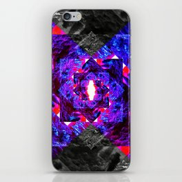 PURPLE DIAMOND iPhone Skin