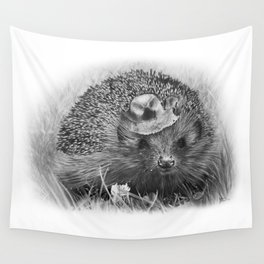 Hedgehog Wall Tapestry