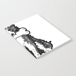 Border Collie Mom Elo Dog Puppy Doggie Mother Notebook