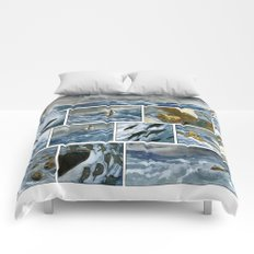 Untitled (A Girl and her Boat) Comforters