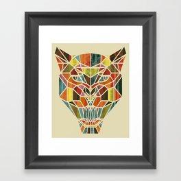 Holy Cat Framed Art Print