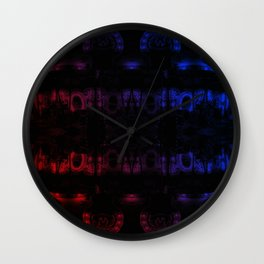 Shadows of the Night Wall Clock