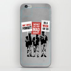 Semi-Protesting iPhone & iPod Skin