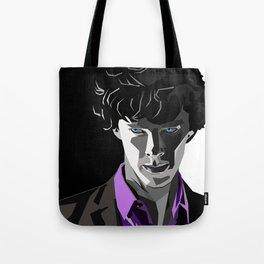 Sherlock Holmes Portrait Tote Bag