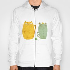 Cat-mouse friendship Hoody