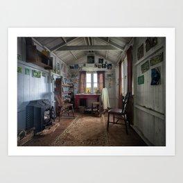 Dylan Thomas writing shed Art Print