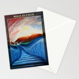 WALK BY FAITH Stationery Cards