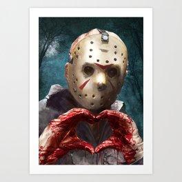 Love, Jason Art Print