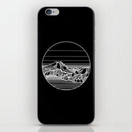 Home to the Mountains II iPhone Skin