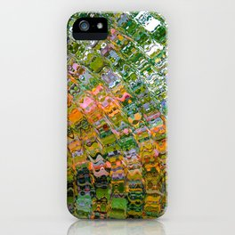 Colorful Wave Abstract iPhone Case
