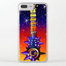 Fusion Keyblade Guitar #150 - Star Seeker & Twilight Blaze Clear iPhone Case