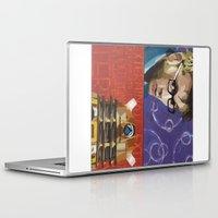 dalek Laptop & iPad Skins featuring Doctor Dalek by Topaz Arrow