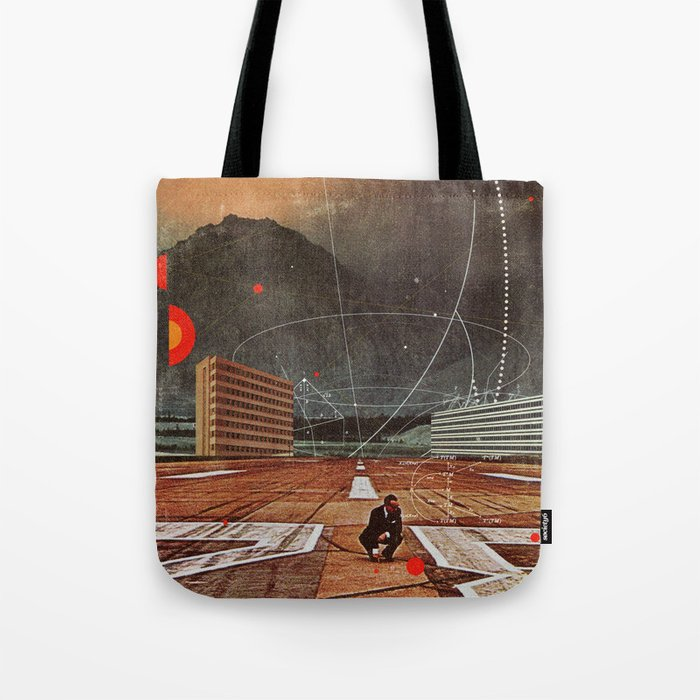 Tracing your Steps Tote Bag