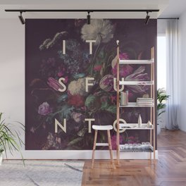 lose and to pretend Wall Mural