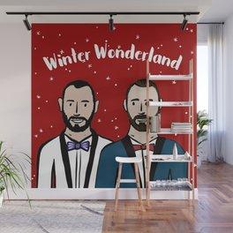 Beard Boy: Winter Wonderland Wall Mural