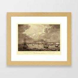 Montreal 1762 Framed Art Print