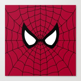 Spider man superhero Canvas Print