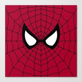 Spider man superhero Canvas Print