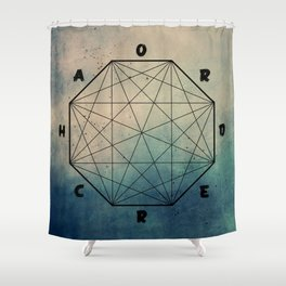 order out of ch... Shower Curtain