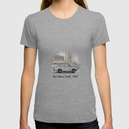 A Trabant in Karl-Marx-Stadt T-shirt