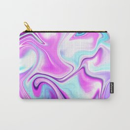 City Lights at Night Color Melt Carry-All Pouch